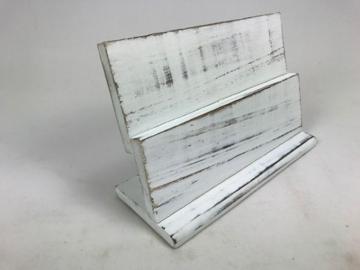 Dubbel plankje 30 cm  white wash
