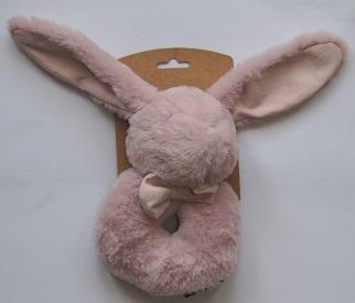 konijn rammelaar roze