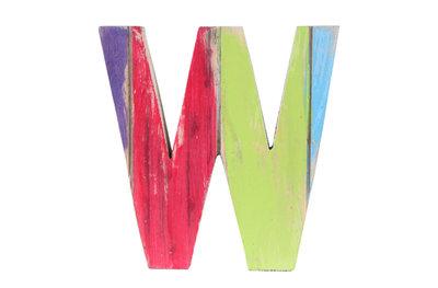 roots joy letter w afmeting letter 19 x 15