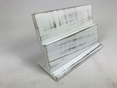Dubbel plankje 20 cm  white wash